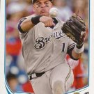 2013 Topps #605 Aramis Ramirez Milwaukee Brewers