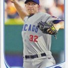 2013 Topps #609 Scott Baker Chicago Cubs