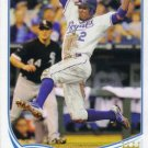 2013 Topps #622 Alcides Escobar Kansas City Royals