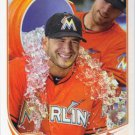 2013 Topps #624 Justin Ruggiano Miami Marlins