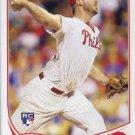 2013 Topps #646 Phillippe Aumont Philadelphia Phillies RC