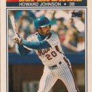 1990 K-Mart Superstars #3 Howard Johnson New York Mets