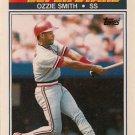 1990 K-Mart Superstars #4 Ozzie Smith St. Louis Cardinals