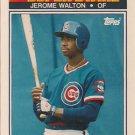 1990 K-Mart Superstars #7 Jerome Walton Chicago Cubs