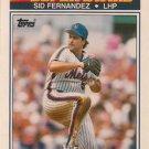 1990 K-Mart Superstars #11 Sid Fernandez New York Mets