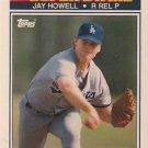 1990 K-Mart Superstars #13 Jay Howell Los Angeles Dodgers