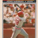 1990 K-Mart Superstars #15 Pedro Guerrerro St. Louis Cardinals