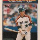 1990 K-Mart Superstars #16 Glenn Davis Houston Astros