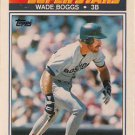 1990 K-Mart Superstars #19 Wade Boggs Boston Red Sox