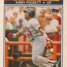 1990 K-Mart Superstars #22 Kirby Puckett Minnesota Twins