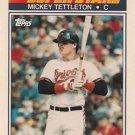 1990 K-Mart Superstars #24 Mickey Tettleton Baltimore Orioles