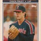 1990 K-Mart Superstars #28 Chuck Finley California Angels