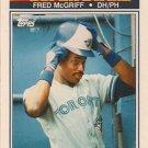 1990 K-Mart Superstars #31 Fred McGriff Toronto Blue Jays