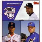 2004 Topps #342 Estaban Loaiza Pedro Martinez Roy Halladay White Sox Red Sox Blue Jays