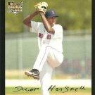 2007 Topps #646 Devern Hansack Boston Red Sox RC