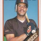 1988 Topps Traded #4T Roberto Alomar San Diego Padres RC