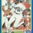 1990 Score #637 Juan Gonzalez Texas Rangers RC
