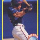1990 Score #650 Dave Justice Atanta Braves RC