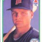 1990 Score #672 Chuck Knoblauch Minnesota Twins RC