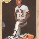 1987 Topps #93 Jim Leyland Pittsburgh Pirates