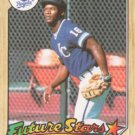1987 Topps #170 Bo Jackson Kansas City Royals RC