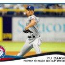 2014 Topps Update #US-250 Yu Darvish Texas Rangers