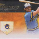 2012 Topps #GM-U26 Robin Yount Milwaukee Brewers Golden Moments