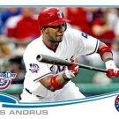 2013 Topps Opening Day #51 Elvis Andrus Texas Rangers