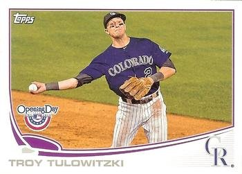 2013 Topps Opening Day #219 Troy Tulowitzki Colorado Rockies