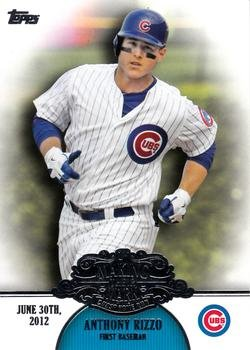 2013 Topps #MM-17 Anthony Rizzo Chicago Cubs Making Their Mark