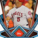 2013 Topps #CTC-37 Albert Pujols Los Angeles Angels Cut to the Chase Refractor