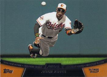 2013 Topps #CD-5 Adam Jones Baltimore Orioles Chase It Down