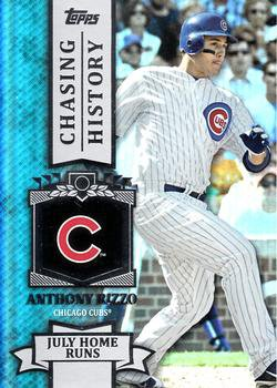 2013 Topps #CH-54 Anthony Rizzo Chicago Cubs Chasing History