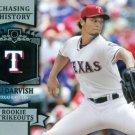 2013 Topps #CH-80 Yu Darvish Texas Rangers Chasing History