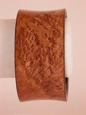 Exotic Wood Bangle Bracelet