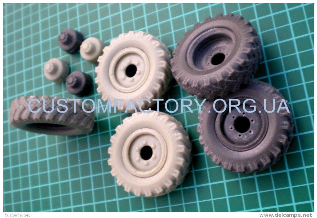1/35 Customfactory Wheels for BTR-40