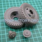1/35 Customfactory  Wheels for Gun D-30 (type 2)