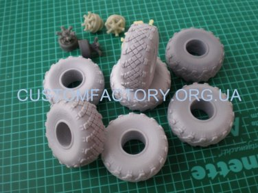 1/35 Customfactory  Wheels VID-210 models KrAZ-255, -260