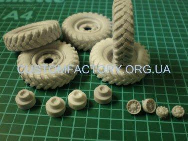 1/35 Customfactory  Wheels for GAZ-66