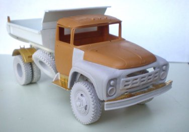 1/35 Customfactory ZIL-MMZ 555: Correction set to model ZIL-131 by ICM (tipper)
