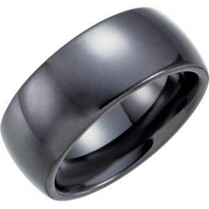 Men's and Women's Ceramic Wedding Ring Band