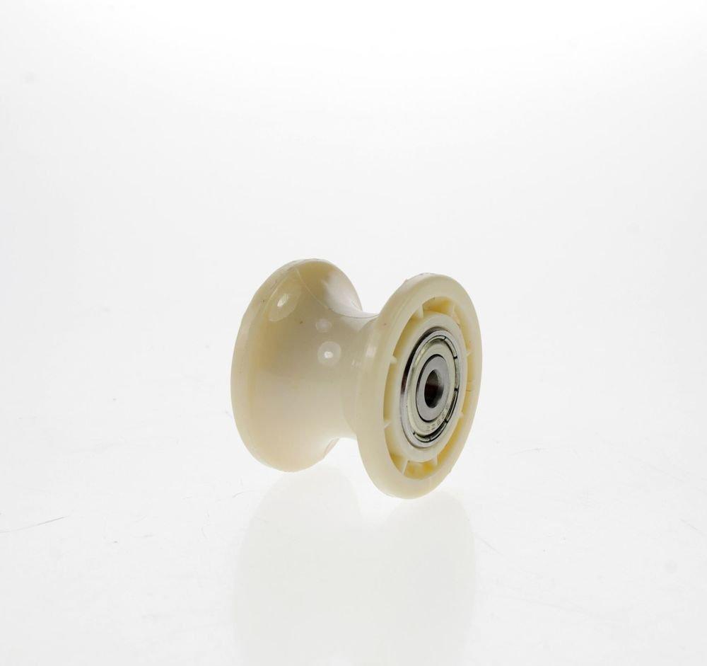 (2) 6*41*31mm 3741UU U Groove Guide Pulley Sealed Rail Ball Bearing Nylon