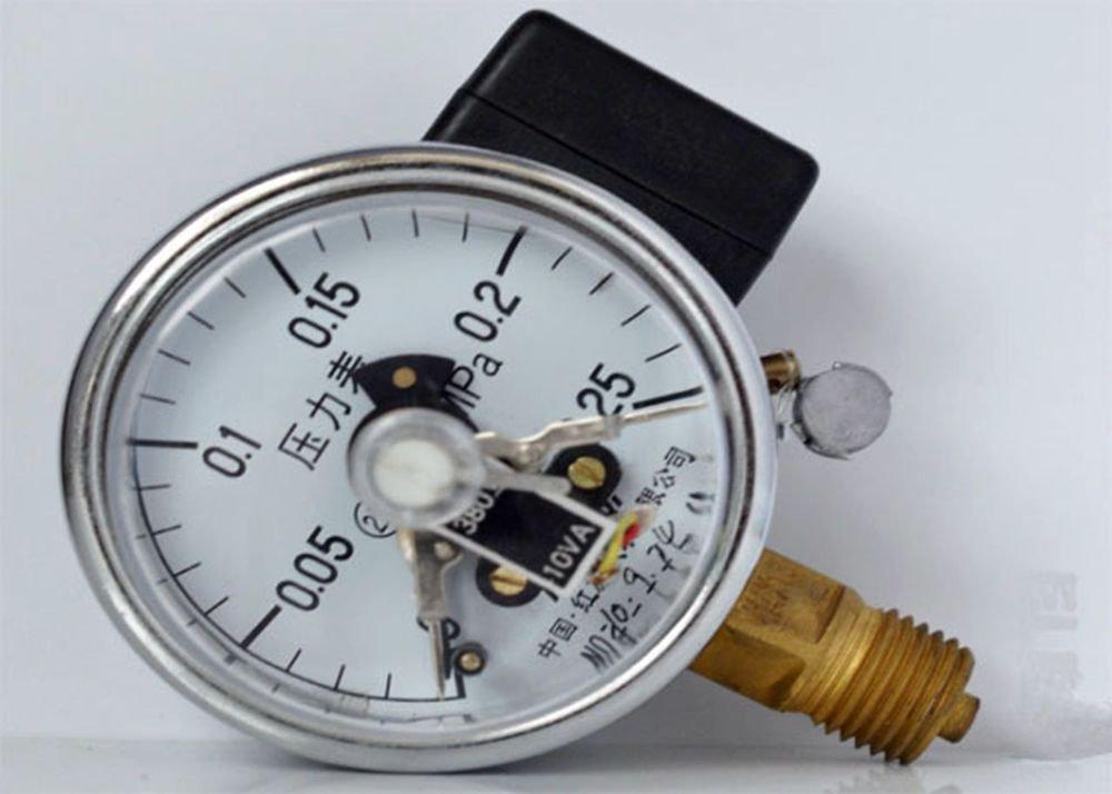 Electric Contact Pressure Gauge Universal Gauge M14*1.5 60mm Dia 0-0.25Mpa