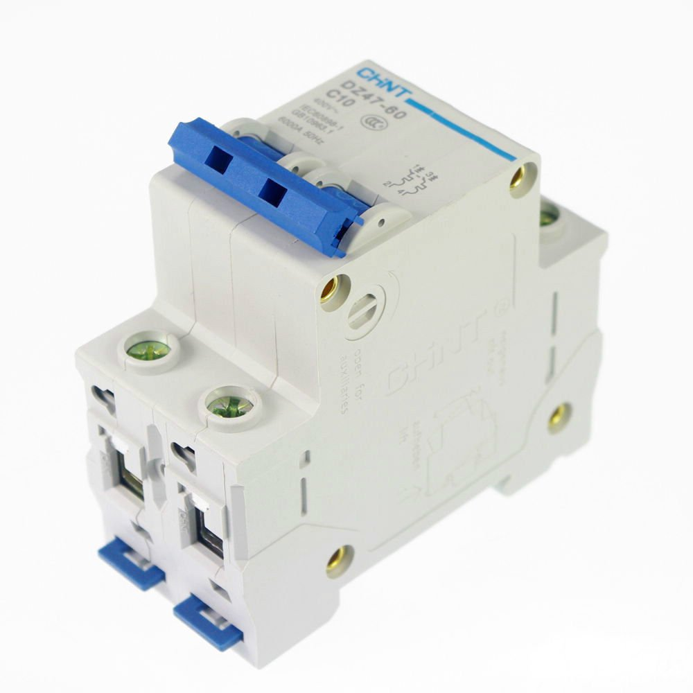 16A Miniature Circuit Breaker DZ47-63 (C45N) 2P 230/400V