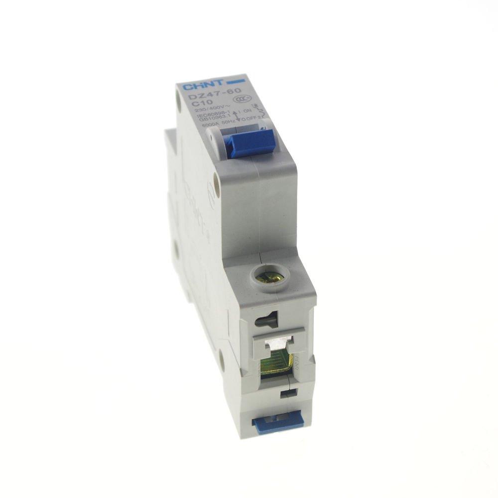 Miniature Circuit Breaker DZ47-60 (C45N) 1P C63 AC230/400V Rated Current 63A CE
