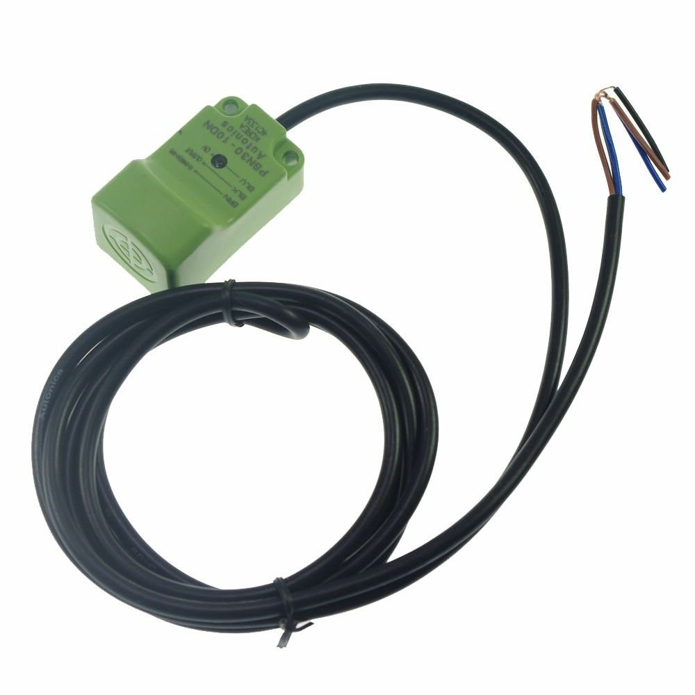 PS30-10DN Inductive Proximity Switch Sensor DC6-36V 3-Wire NPN NO 45*45*1mm(Rail
