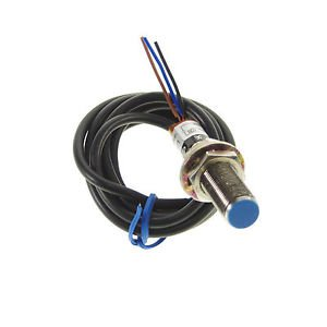 Proximity Switch Sensor LJ12A3-2-Z/BX Submerged DC 3-Wire NPN NO 12*12*1mm(Rail