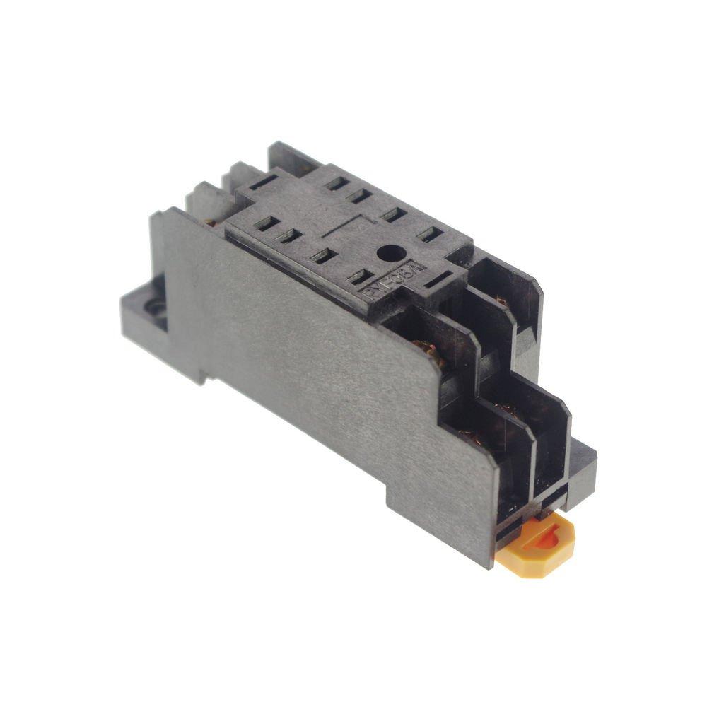 New  8-Pin PTF08A Relay Base Socket