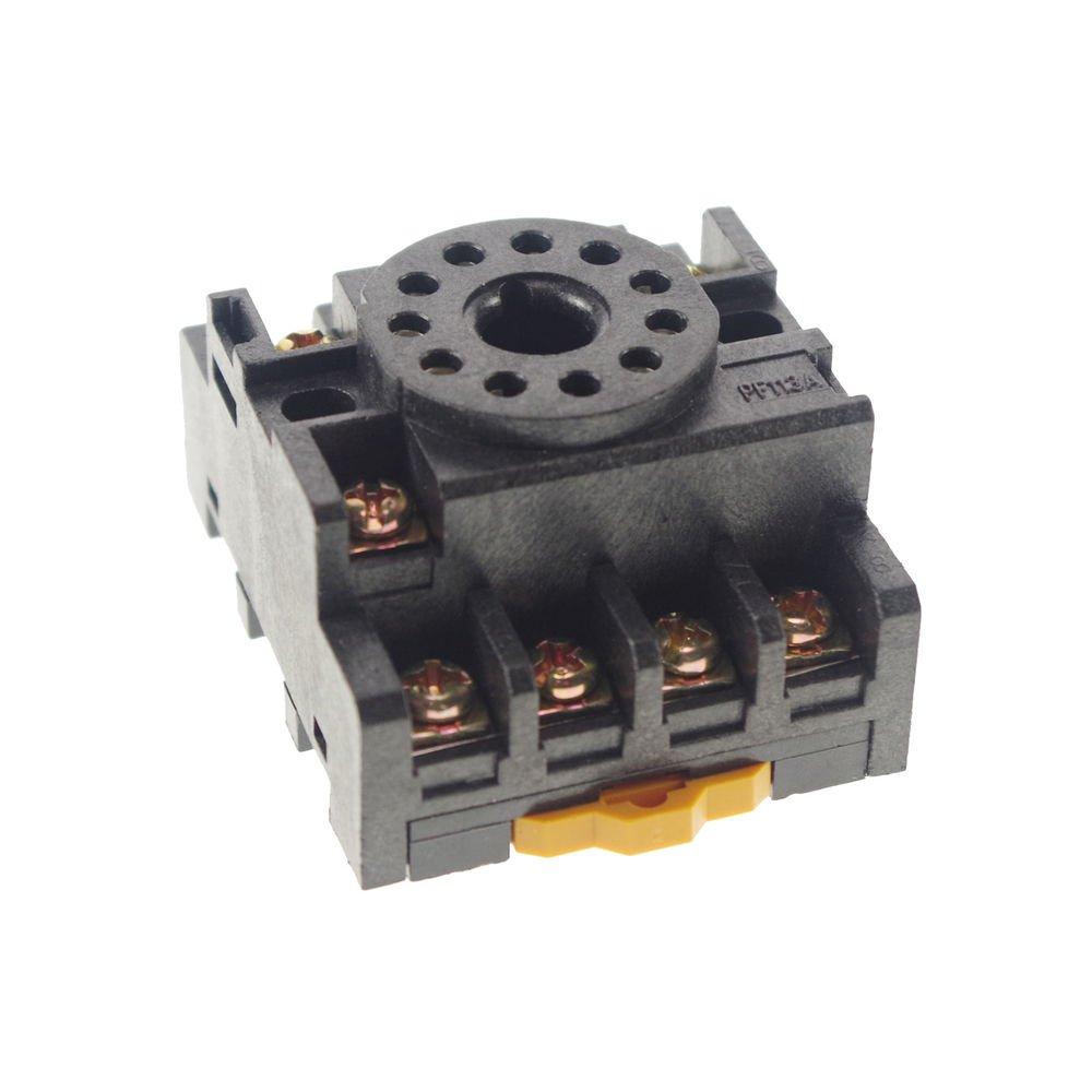 New 10PCS Relay Socket PF113A 11-pin octal base