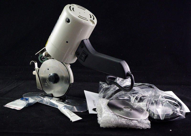 110V 90mm Cloth Cutter Fabric Cutting Machine Shear